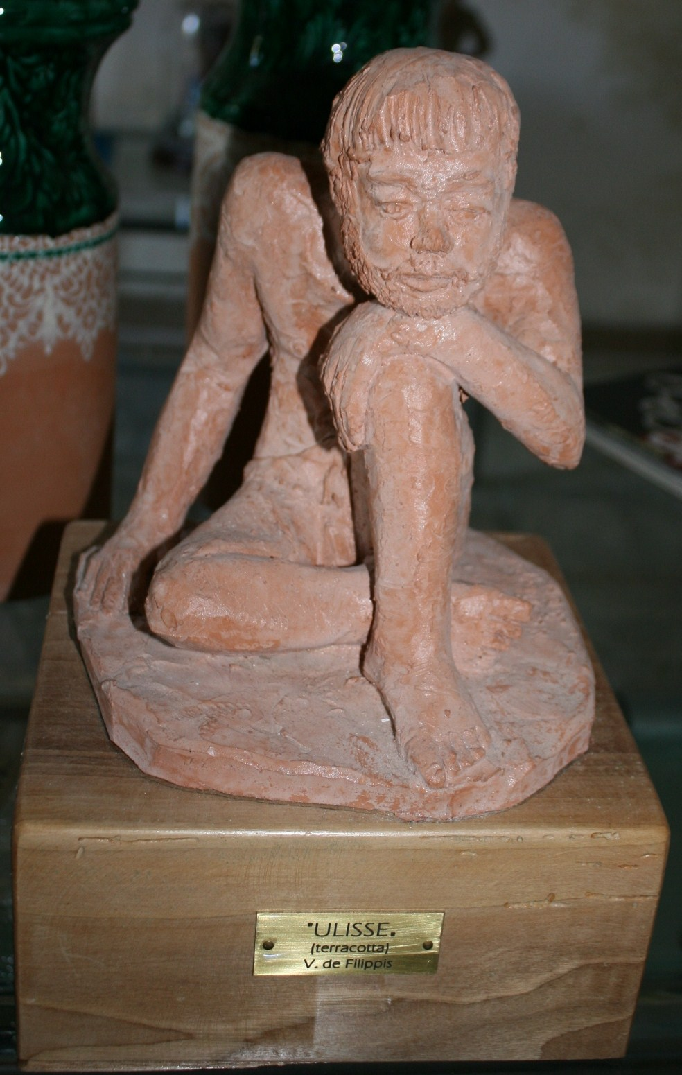 scultura in terracotta